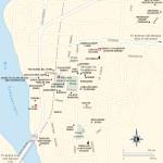 Travel map of Tehuántepec, Oaxaca