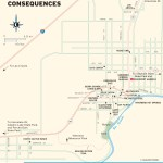 Travel map of Truth or Consequences, New Mexico