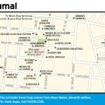 Map of Chetumal, Belize