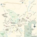 Travel map of Vicinity of Moab, Utah