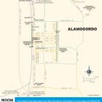 Travel map of Alamogordo, New Mexico