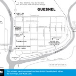 Map of Quesnel, BC