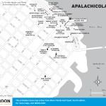 Travel map of Apalachicola, Florida