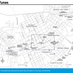 Travel map of Las Tunas, Cuba