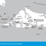 Travel map of Fort Walton Beach and Destin, Florida