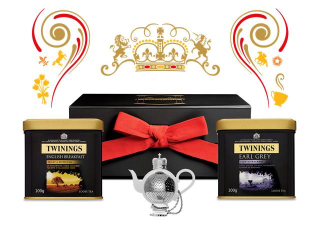 twinings tea set