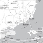 Travel map of Pensacola, Florida