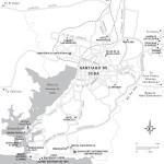 Travel map of Santiago de Cuba Outskirts