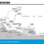Travel map of Reserva de la Biosfera Baconao, Cuba