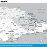 Travel map of Guantánamo, Cuba