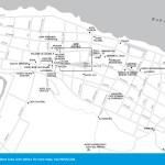 Travel map of Baracoa, Cuba