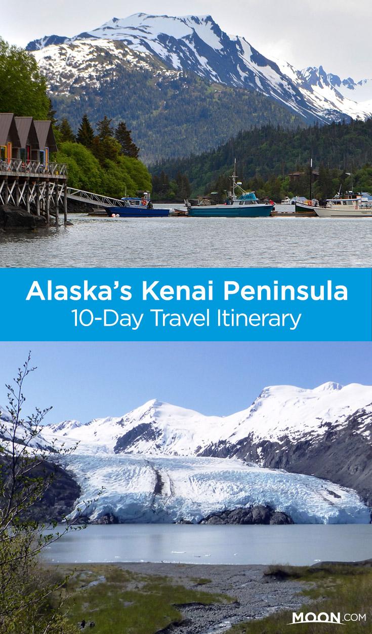 alaska kenai peninsula pinterest graphic