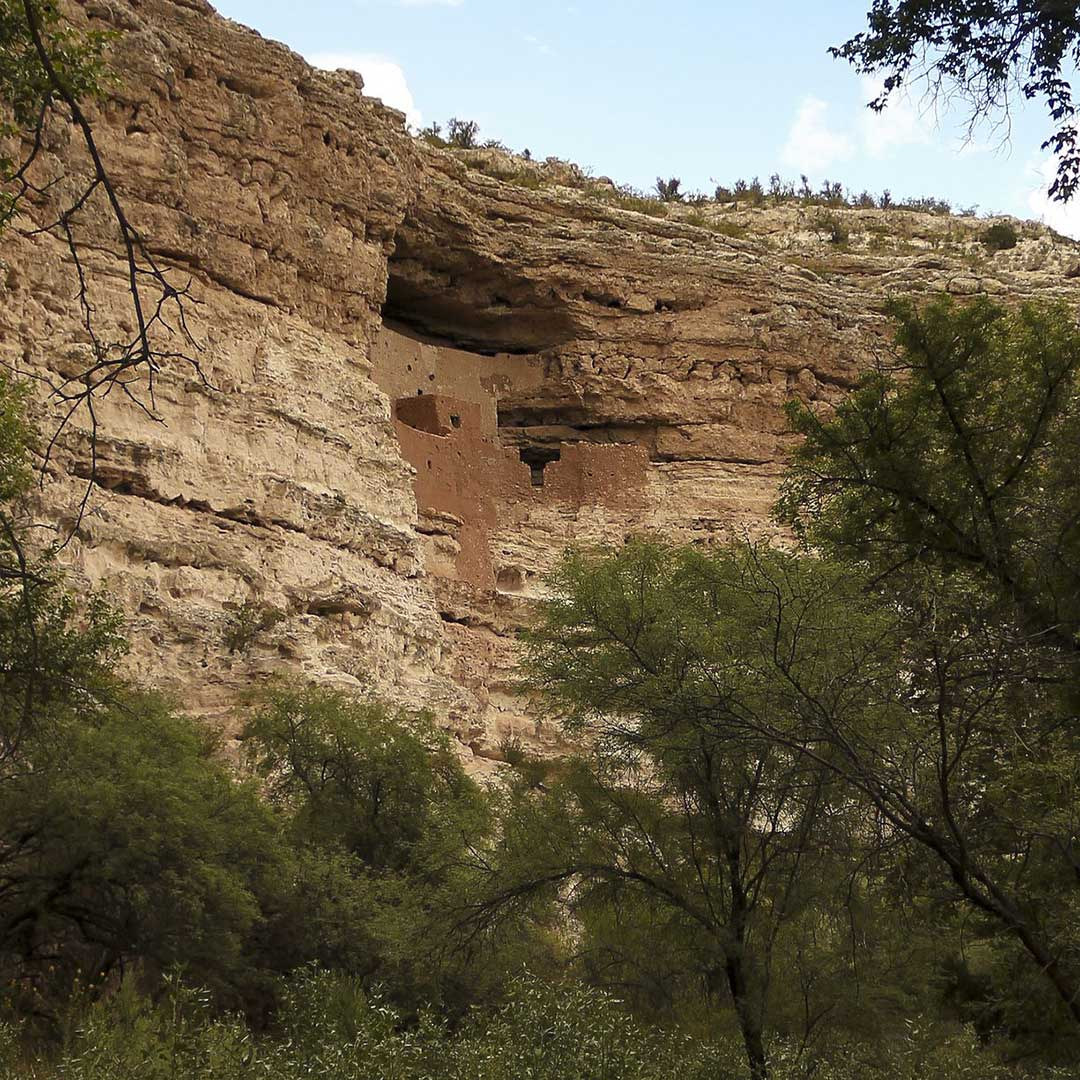 Montezuma Castle National Monument in the Verde Valley of Arizona. Photo © Derrick Neill/123rf.