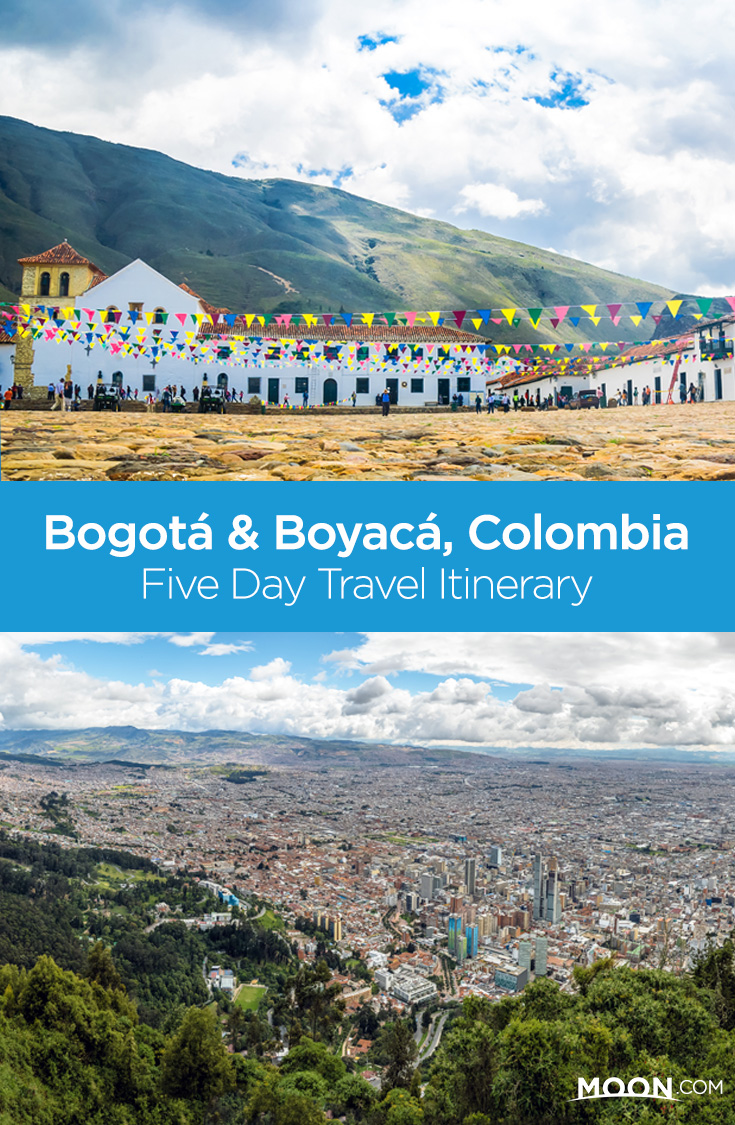 Make Bogotá your base for a week's stay in Colombia to experience the rhythm of Colombian life and visit a colonial town to explore nearby nature hikes in Boyacá.