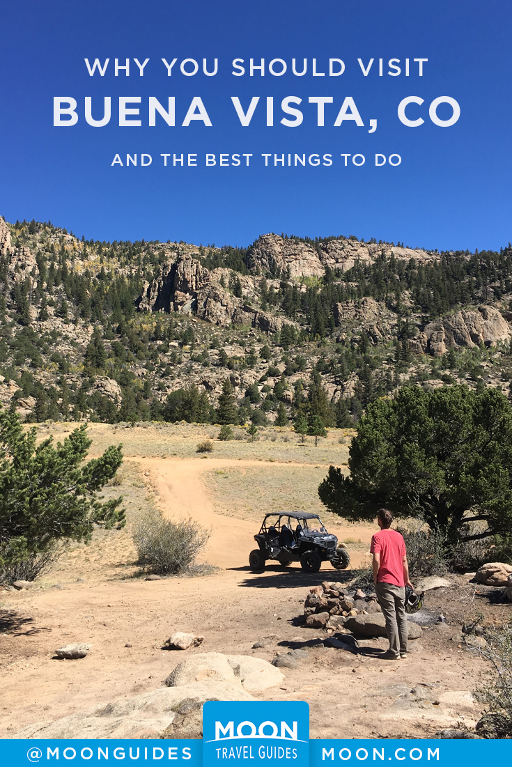 Things to do in Buena Vista Colorado Pinterest graphic