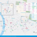 map of Silom and Sathorn Sights and Attractions
