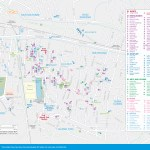 map of Sukhumvit Sights and Attractions
