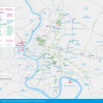 map of Greater Bangkok Sights and Attractions
