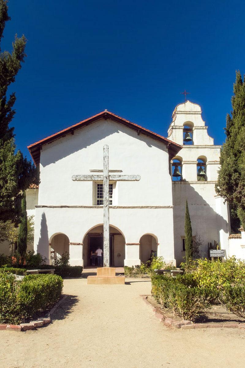 Mission San Juan Bautista.