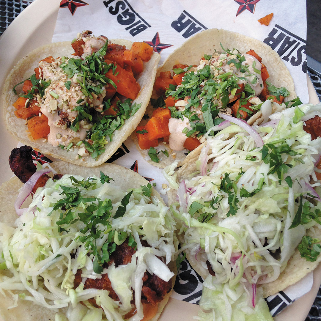 tacos on a plate at Big Star in Chicago
