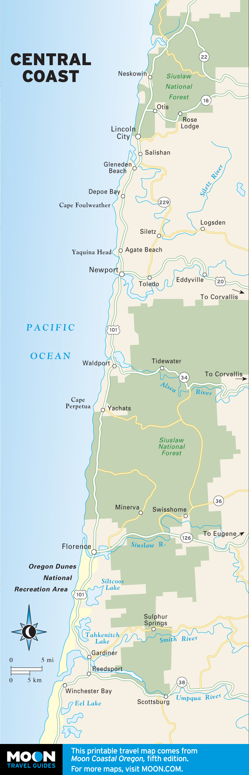 The 10 Best Places To Camp On Oregon S Coast Moon Travel