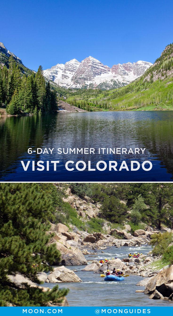 Summer in Colorado Pinterest graphic