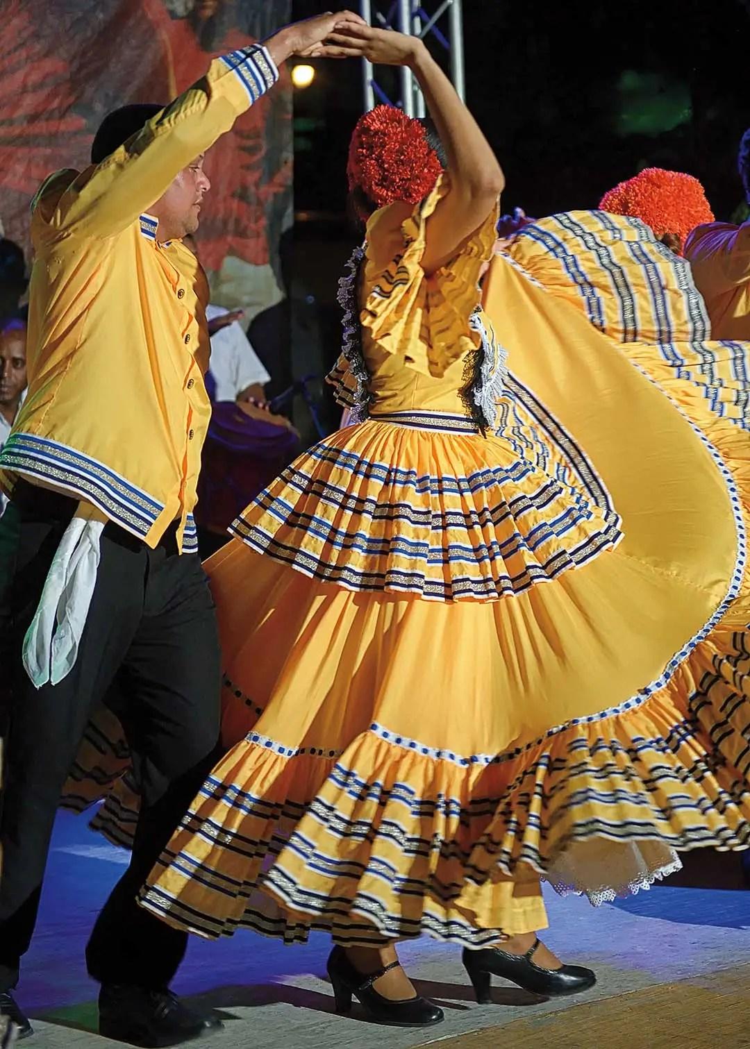 Dancers in Santo Domingo. Photo © Lebawit Lily Girma.