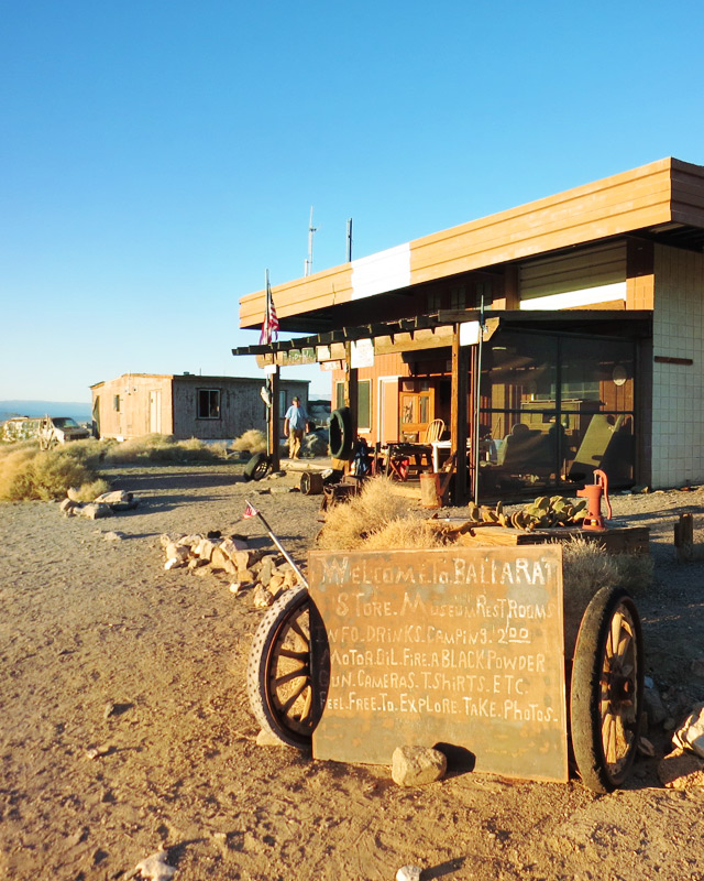 The old general store where Rocky Novak dispenses icy drinks and information.