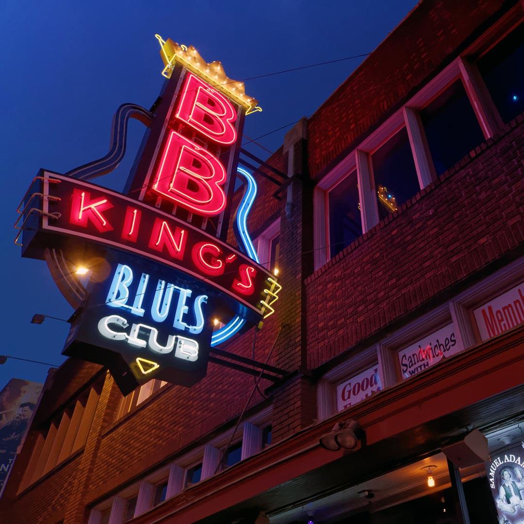 Beale Street in Memphis, TN.