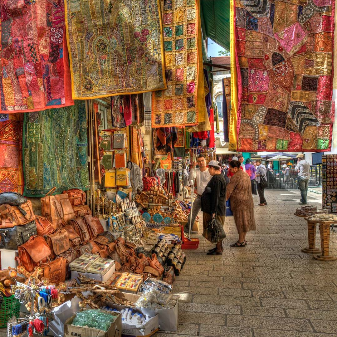 market in old city Jerusalem