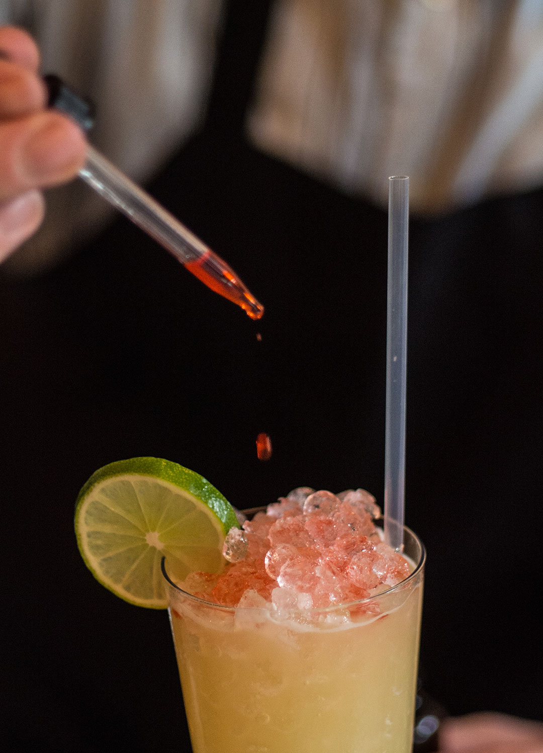 Enjoy a freshly prepared cocktail at Cane & Table