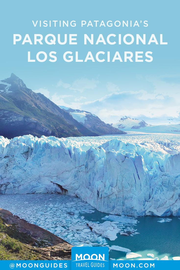 Los Glaciares National Park Pinterest graphic