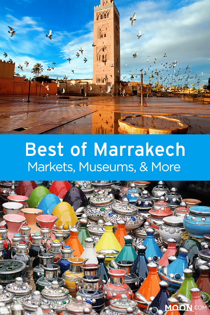 morocco things to do pinterest graphic