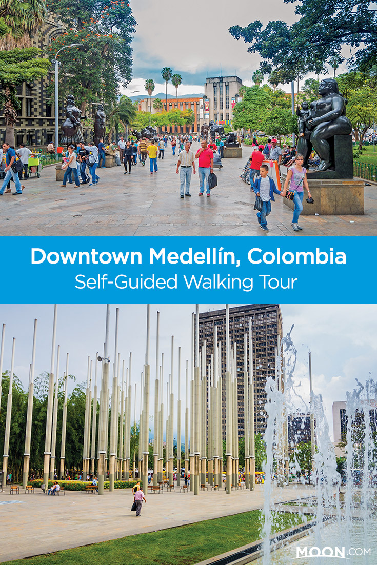 Looking for things to do in downtown Medellin, Colombia? Explore the city on a self-guided walking tour! Begin in Plaza Botero and explore the brash downtown from the colonial era to the city's 21st-century optimism.