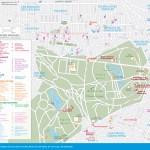 Travel map of Mexico City's Chapultepec and Polanco