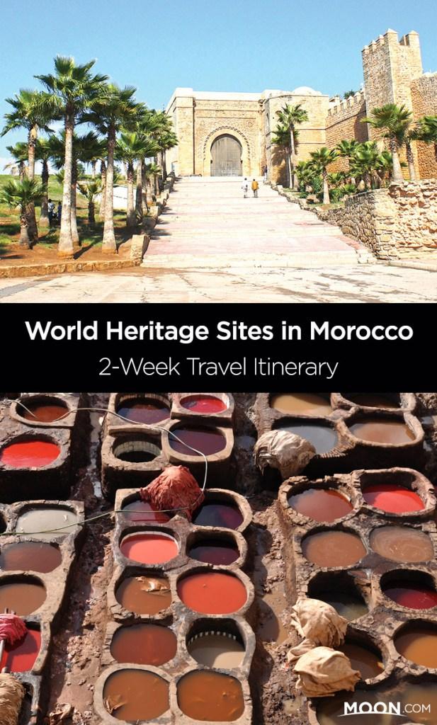 morocco unesco sites pinterest graphic