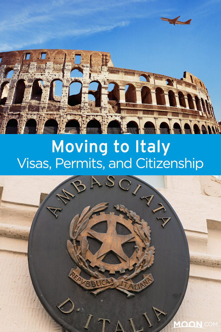 Moving to Italy takes a lot of bureaucratic legwork. Here's a guide to visas, permits, and if you meet the tight requirements, how to claim Italian citizenship.