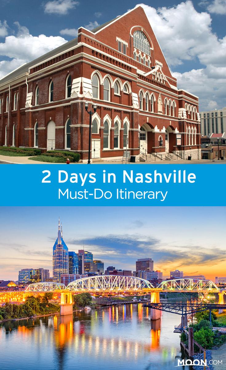 Weekend in Nashville Pinterest graphic