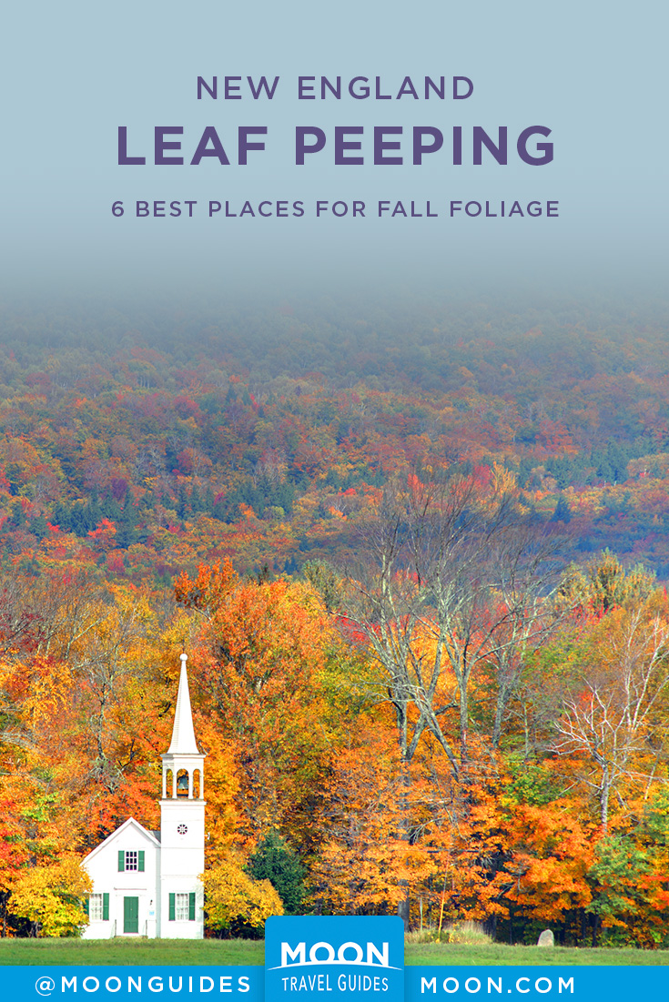New England Fall Foliage Pinterest graphic