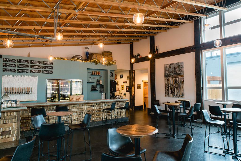 inside view of De Garde Brewing in Oregon