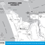 Map of Astoria, Oregon, and Vicinity