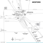 Map of Medford, Oregon