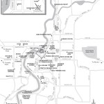 Map of Bend, Oregon