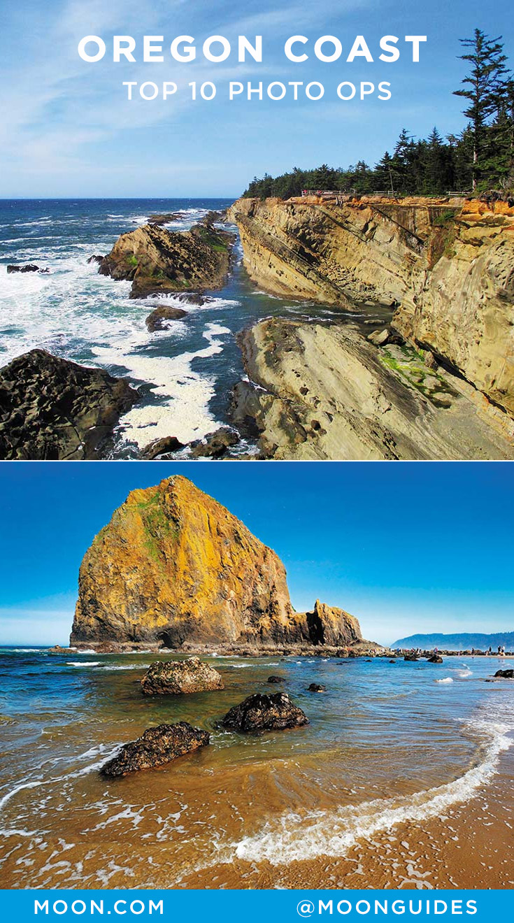 oregon coast photo ops pinterest graphic