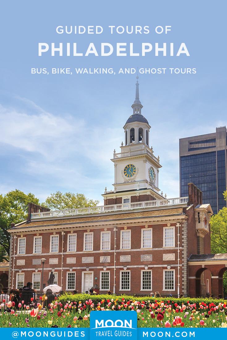 Philadelphia Tours Pinterest graphic