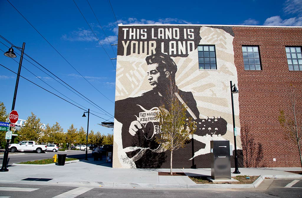 The Woody Guthrie Center in Oklahoma