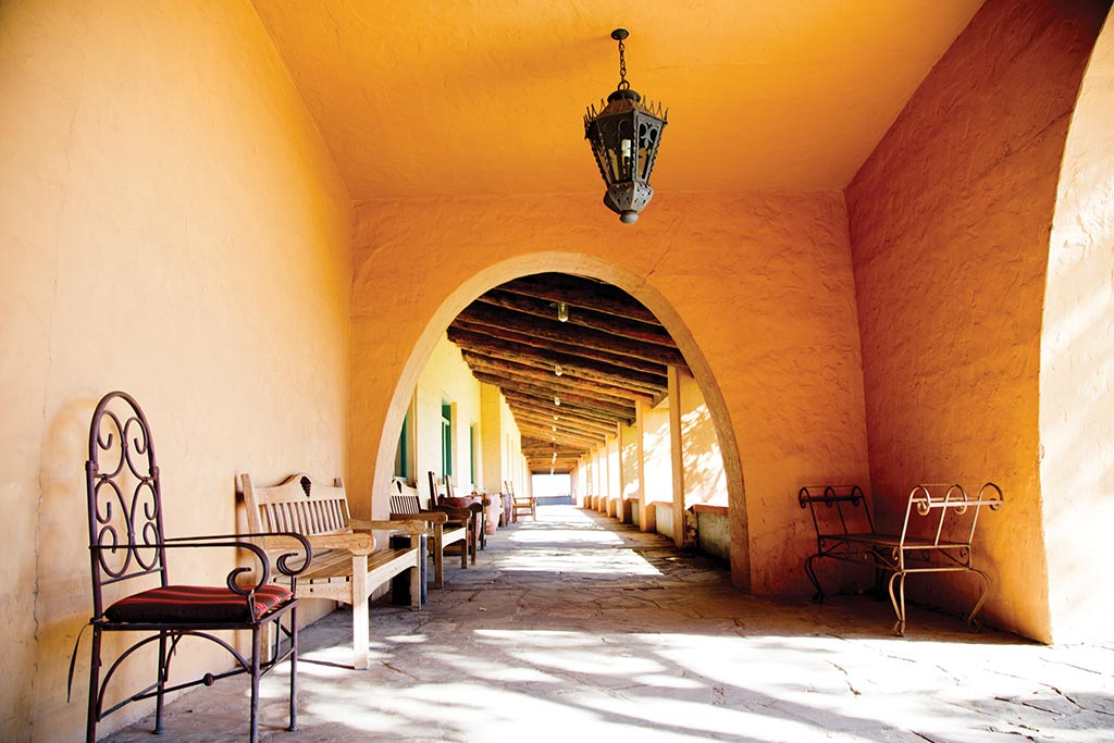 La Posada in Winslow, AZ. Photo © Candacy Taylor.