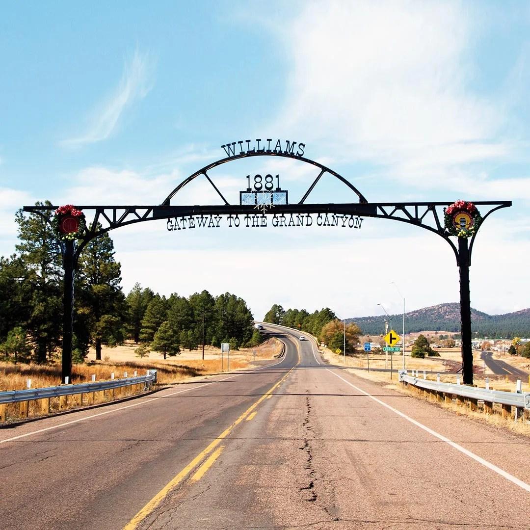 Williams, AZ. Photo © Candacy Taylor.