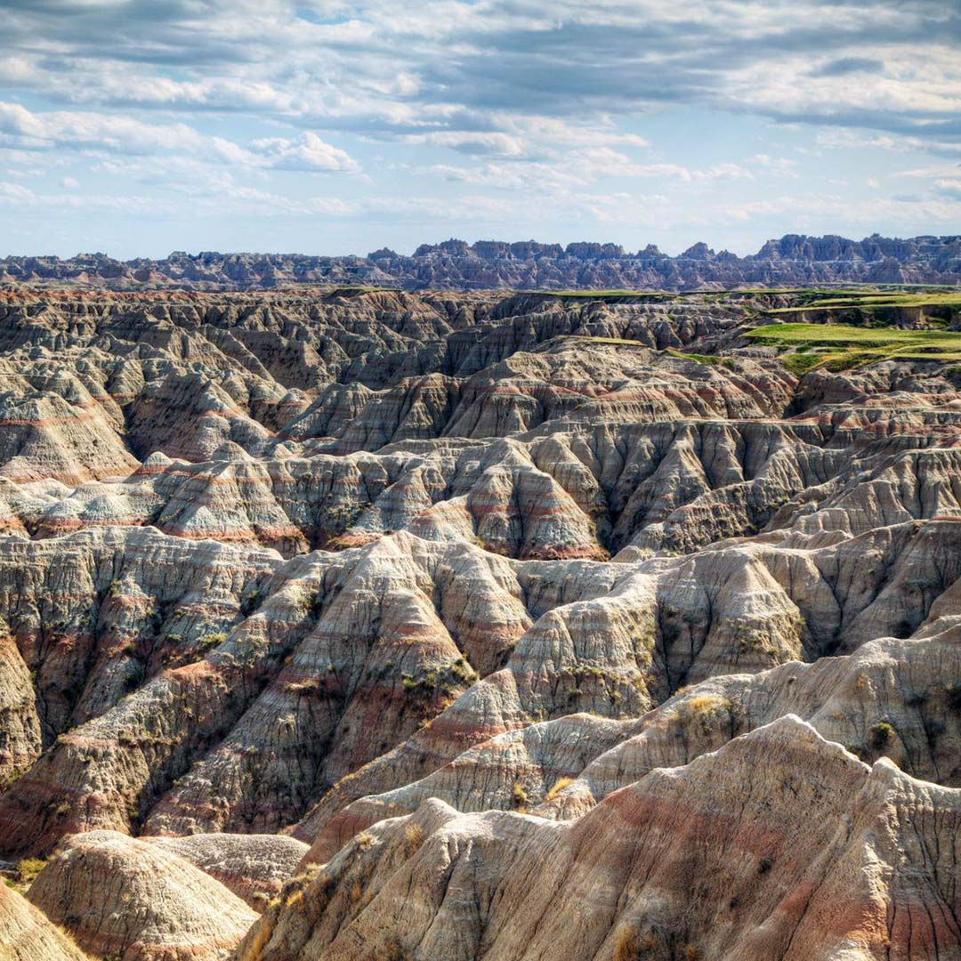 South Dakota's Badlands National Park.