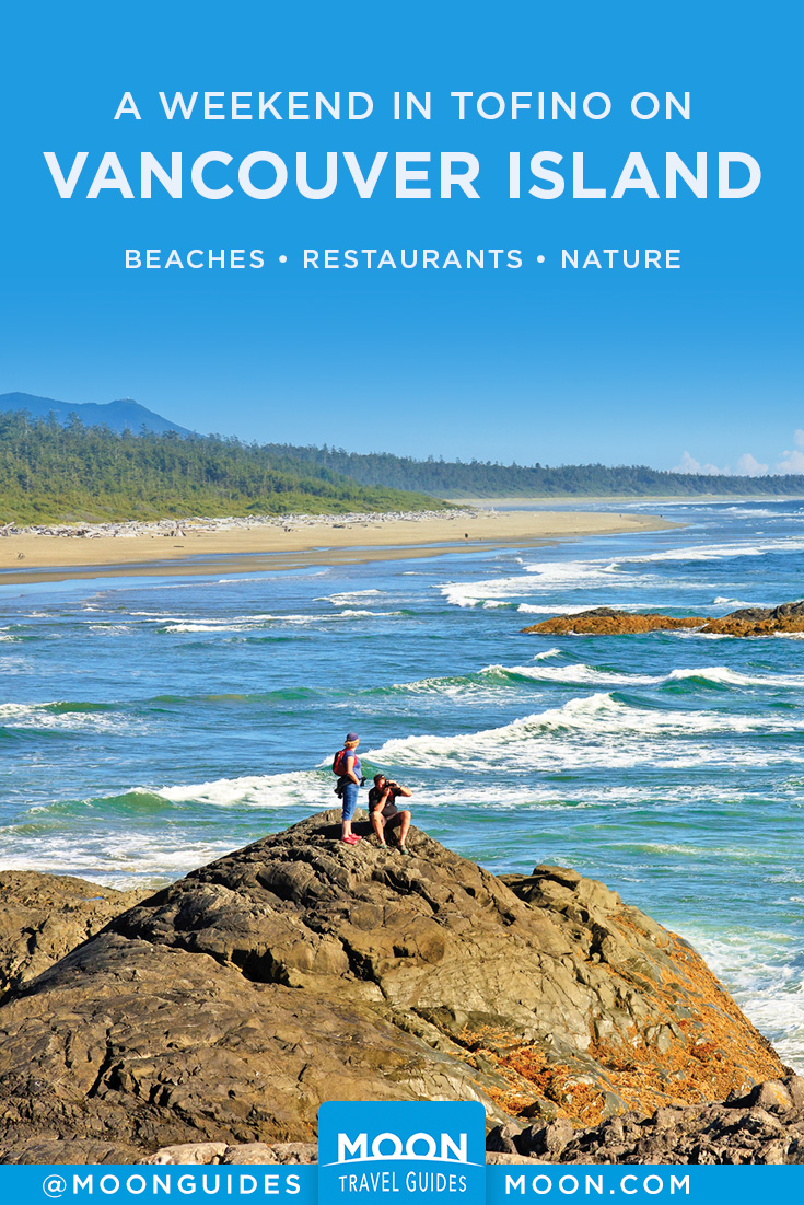 Tofino on Vancouver Island Pinterest graphic
